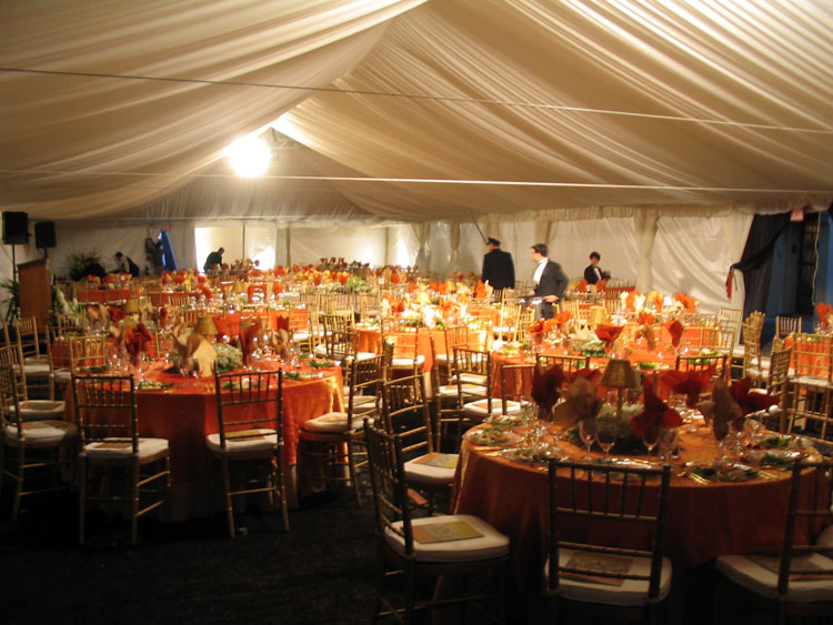 Evening Tent Reception