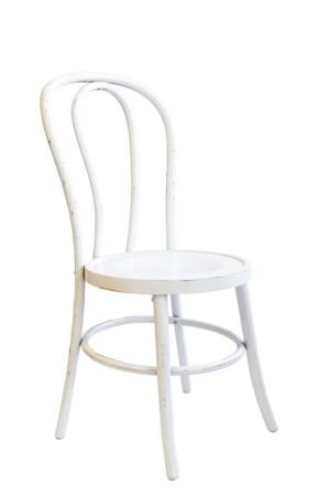Where to rent White Washed Bentwood Chair in San Francisco Bay Area