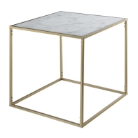 Rental store for Gold Marble End Table in San Francisco CA