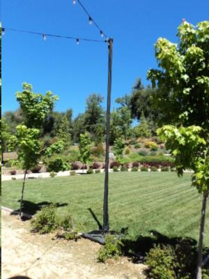 Where to find 12  H Lighting Pole   66 lb Base in San Francisco