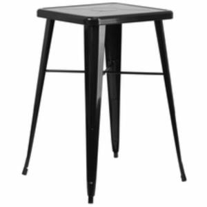 Where to find Gun Metal Bar Table Black in San Francisco