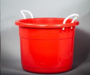 Where to find Colored Plastic Ice Tub 19 Gallon in San Francisco