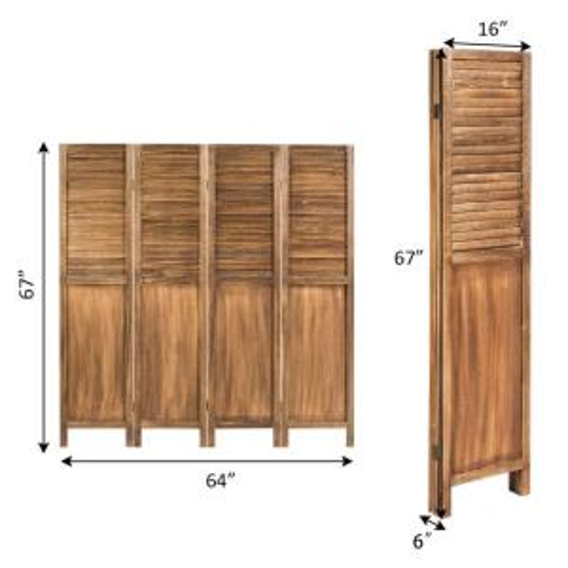 Rooms For Rent Bay Area: Wooden Room Divider Screen 4 Panel Rentals San Francisco