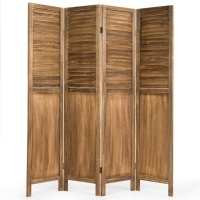 Rental store for Wooden Room Divider Screen - 4 Panel in San Francisco CA