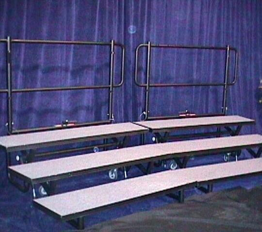 Where to rent Choir Bleachers 10 person in San Francisco Bay Area