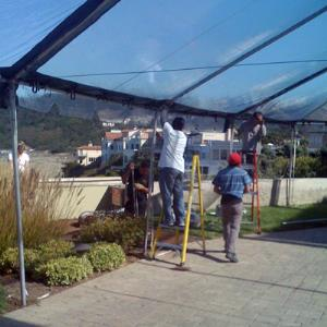 Where to find Canopy Clear Wall 10 x10 in San Francisco & CANOPY CLEAR WALL 10 FOOT X10 FOOT Rentals San Francisco CA Where ...