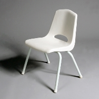 Rental store for Children s Chair Plastic White in San Francisco CA