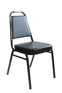 Rental store for Hotel Chair Stacking Black in San Francisco CA