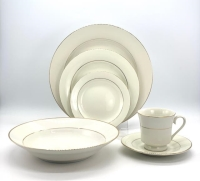 Rental store for Elegance Ivory w  Gold Rim Dishware in San Francisco CA