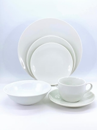 Rental store for White Coupe Dishware in San Francisco CA