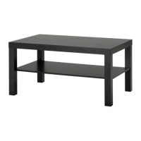 Rental store for Large Black Coffee Table in San Francisco CA