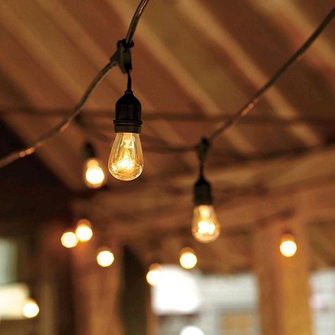 Vintage Bistro Lights 50 Foot Rentals San Francisco Ca