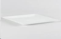 Rental store for White Square Plastic Platter 15.5 in San Francisco CA