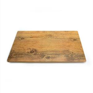 Where to rent Melamine Faux Wood Tray in San Francisco Bay Area