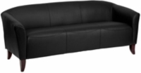 Rental store for Black Leather Sofa in San Francisco CA