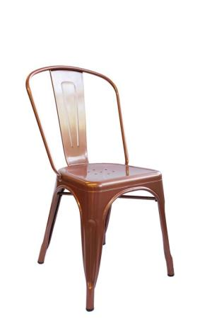Where to find Gun Metal Cafe Chair Copper in San Francisco