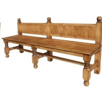 Rental store for Rustic Pine Double Bench in San Francisco CA