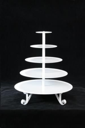 Where to rent White Round Cupcake Stand in San Francisco Bay Area