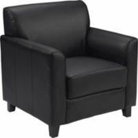 Rental store for Black Leather Arm Chair in San Francisco CA
