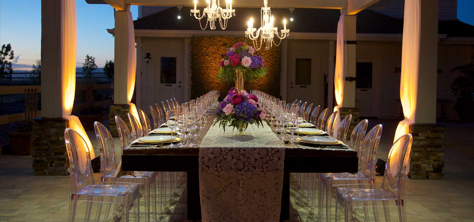 Wedding Rentals in the Bay Area